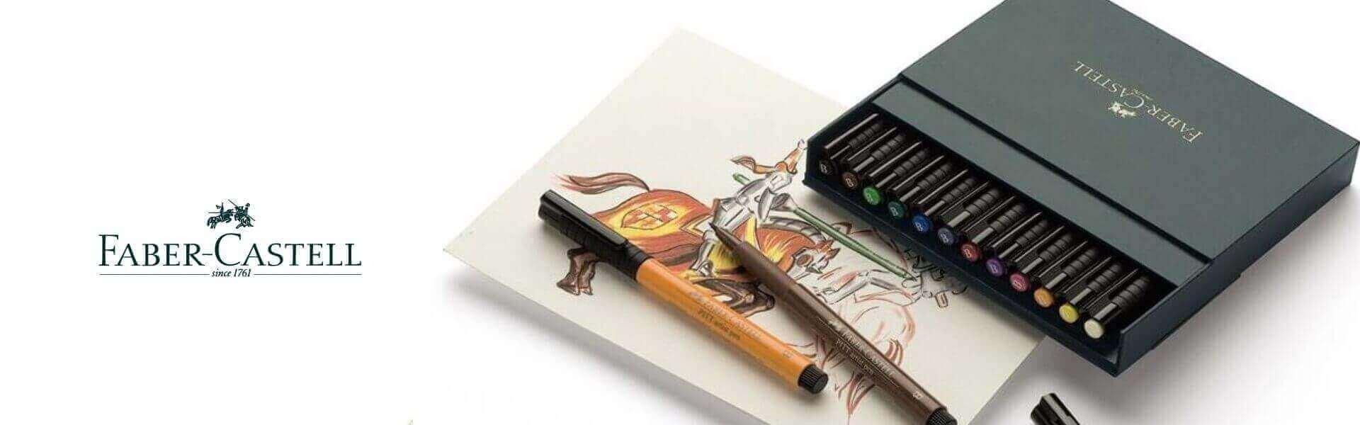 Капиллярные ручки Faber-Castell