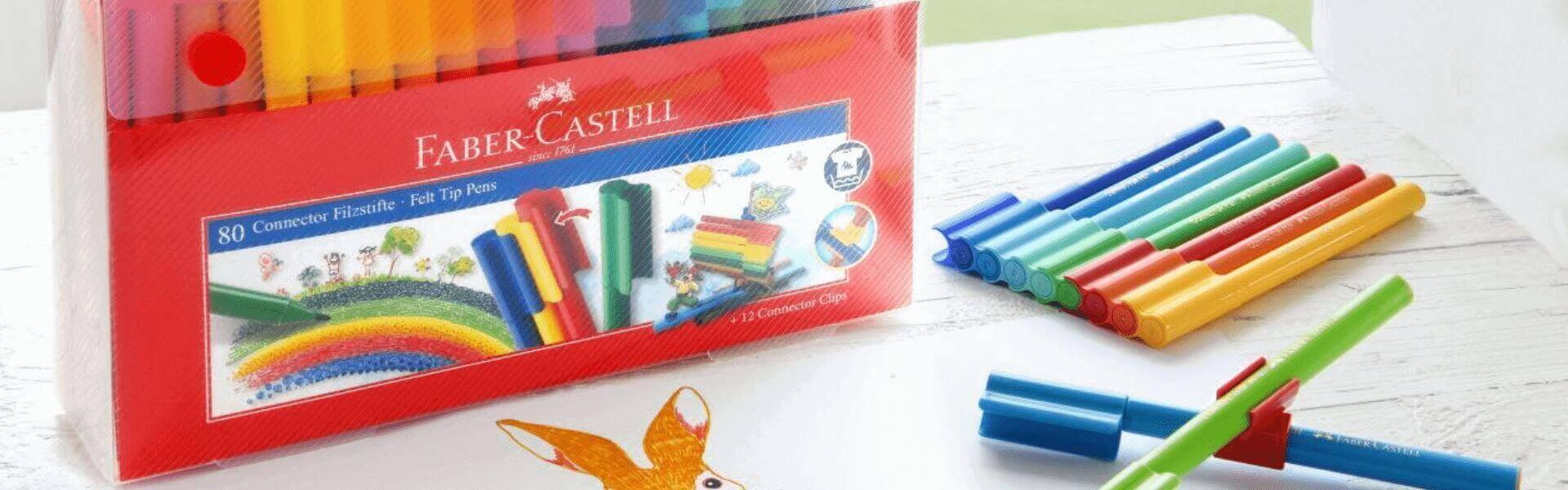 Фломастеры Faber-Castell Connector