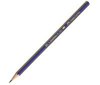 Графитный карандаш Faber-Castell 112504 4B Goldfaber сине-золотой