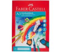 Бумага Faber-Castell А3 10 листов 100/м2 в папке 212047