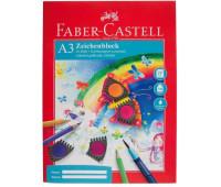 Бумага Faber-Castell А3 20 листов 100/м2 в папке 212048