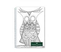 Блокнот Faber-Castell А5 чистые листы 80 листов 401105