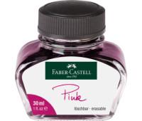 Чернила Faber-Castell 149856 РОЗОВЫЕ 30 мл в стеклянной банке