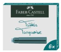 Патроны Faber-Castell 185509 БИРЮЗОВЫЕ стандарт  6 шт