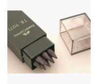 Грифель для цангового карандаша Faber-Castell 3.15 мм 10 шт в пенале 130 мм - 4B - 127104