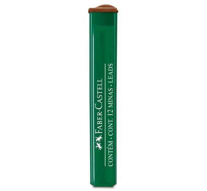 Грифель Faber-Castell 0.5 мм серия 12 шт в пенале - OF/9125 - 2B