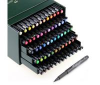 Капиллярная ручка-кисточка Кисть ручка Faber-Castell BRUSH 60 цветов - 167150