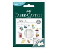 Клей Faber-Castell многоразовый tack it 30 г белый 187053