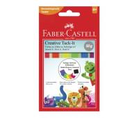 Клей Faber-Castell многоразовый tack it 50 г 6 цветов 187094