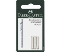 Ластик Faber-Castell 131597 и 3 шт сменные к grip 2001