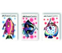 Ластик Faber-Castell 184648 7046-48 рыбка винил