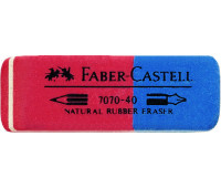 Ластик Faber-Castell 187040 7070-40 красно-синий
