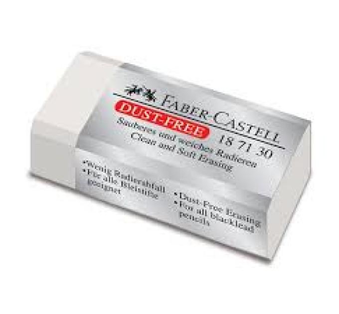 Ластик Faber-Castell 187130 dust-free белый винил