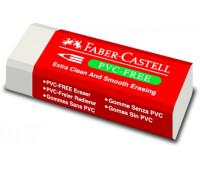 Ластик Faber-Castell 189520 7095-20 белый винил для карандаша