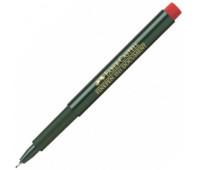 Линер Faber-Castell fine pen красный 151121