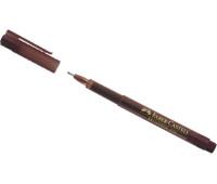 Линер Faber-Castell broadpen 0,8 мм коричневый - 155477