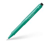 Линер Faber-Castell ecco pigment 0.1 мм зеленый 166163