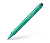 Линер Faber-Castell ecco pigment 0.5 мм зеленый - 166563