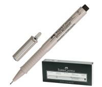 Линер Faber-Castell ecco pigment 0.5 мм черный - 166599