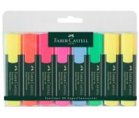 Маркеры набор Faber-Castell 154862 TEXTLINER 6+2 ЖЕЛТЫХ В П/Э
