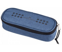 Пенал Faber-Castell на молнии 1 отделение синий 573051