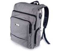 Рюкзак Faber-Castell Grip Executive серый - 573736 размер 47х29х13 см