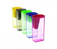 Точилка Faber-Castell, цветная с контейнером упаковка - 125flv