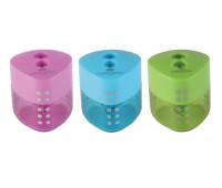 Точилка Faber-Castell, Grip mini пластиковая двойная цветная упаковка - 183102