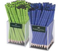 Графитный карандаш в наборе Faber-Castell 117068 Grip 2001 HB зеленый