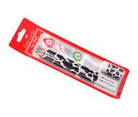 Графитный карандаш в наборе Faber-Castell 118390 3 шт каранд. + ластик Motif