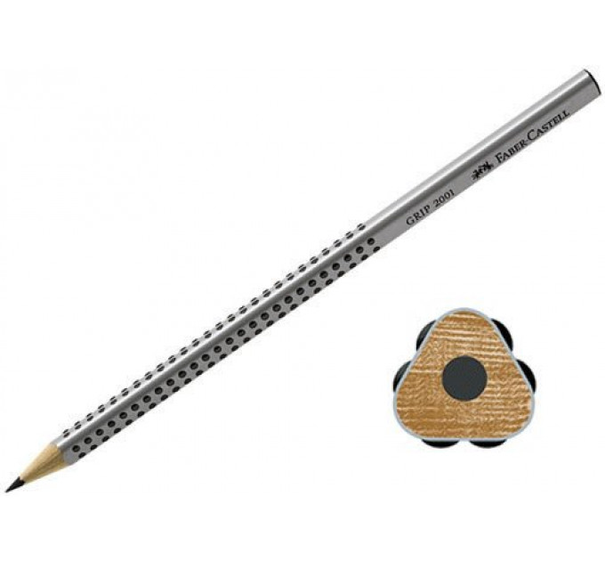 Графитный карандаш Faber-Castell 117000 Grip 2001 HB