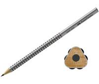 Графитный карандаш Faber-Castell 117001 Grip 2001 B
