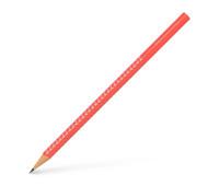 Графитный карандаш Faber-Castell 118229 Grip sparkle розовый