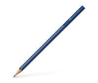 Графитный карандаш Faber-Castell 118264 Grip sparkle темно-синий