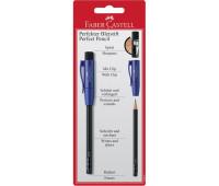Графитный карандаш Faber-Castell 182997 Perfect + колпачок с точилкой