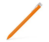 Ручка Faber-Castell шариковая Grip 2022 автомат. оранжевая трехгранная 544615