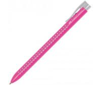 Faber-Castell шариковая ручка Grip 2022 автомат. розовая трехгранная - 544628