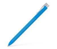 Faber-Castell шариковая ручка Grip 2022 автомат. голубая трехгранная 544647