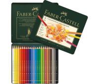 Цветные карандаши Faber-Castell Polychromos 24 цв 110024