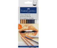 Угольный набор Faber-Castell Goldfaber для скетча 6 предметов - 114004