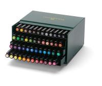 Капиллярная ручка-кисточка Faber-Castell BRUSH 48 цветов - 167148