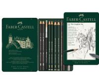 Набор графита Faber-Castell Pitt, 11 предметов - 112972