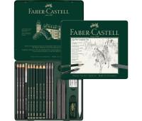 Набор графита Faber-Castell Pitt 19 предметов 112973