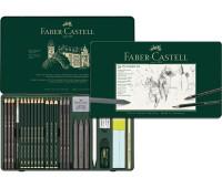 Набор графита Faber-Castell Pitt, 26 предметов - 112974