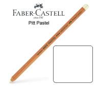 Карандаш пастельный Faber-Castell PITT №101 - средняя тверд