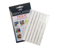Клей TACKE IT 187093 Faber 75 гр - многоразовый белый