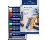 Пастель Faber-Castell 12 цв масляная пастель Goldfaber - 127012