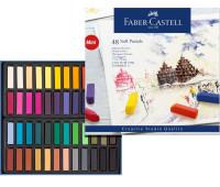 Пастель Faber-Castell 48 цв мягкая пастель 35 мм Goldfaber 128248