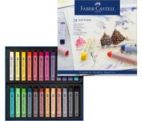 Пастель Faber-Castell 24 цв мягкая пастель 70мм Goldfaber - 128324