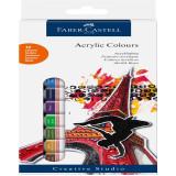 Акриловые краски Faber-Castell